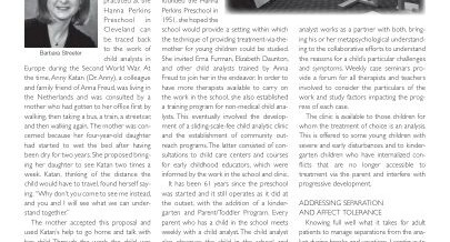 Analytic journal publishes article by school director