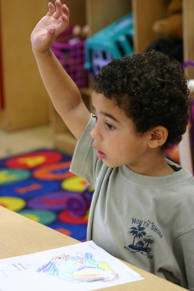 A preschool as much for parents as children