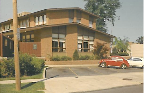Cornell Road building, 1966