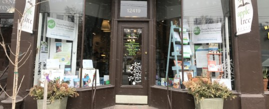 Reception and book-signing at Appletree Books