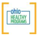 Ohio healthy programs