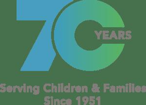 70 year badge